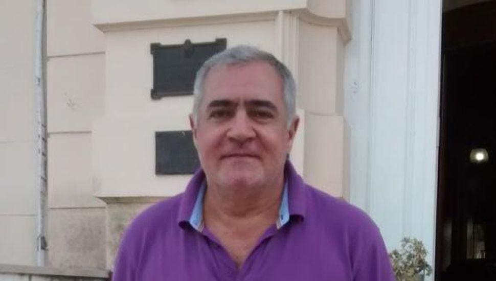 Osmar Echeverría, secretario de Obras Públicas.