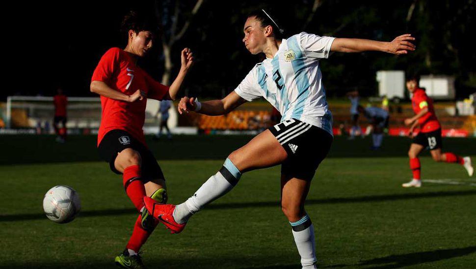 Argentina perdió ante Corea del Sur.