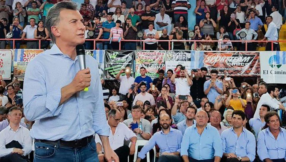 """Macri en Chaco: """"Bajamos la inflación, crecimos, y vamos a seguir creciendo"""""""