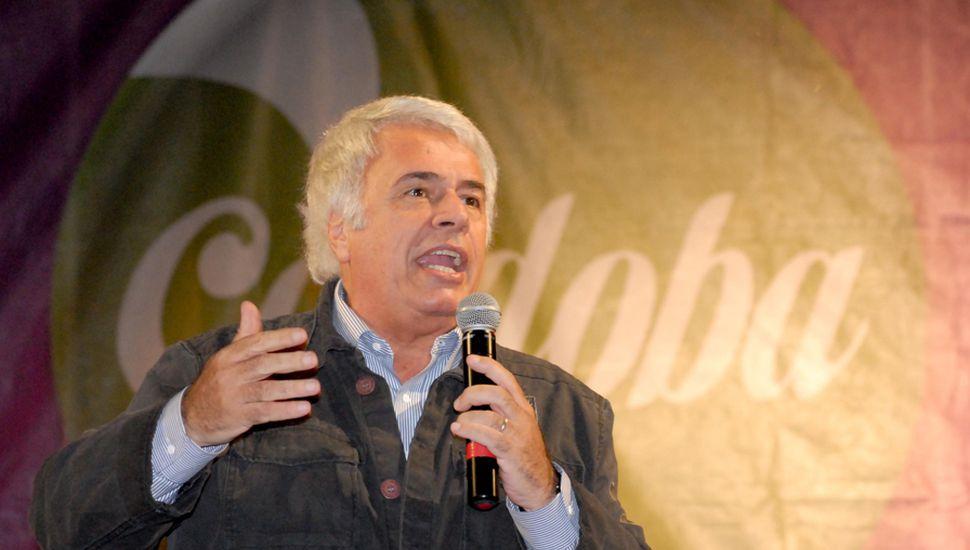 De la Sota en su visita a Junín el 13 de octubre de 2012.
