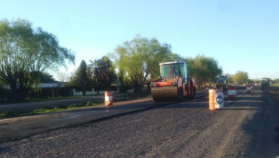 Por el arranque de los trabajos, en algunos tramos los vehículos tienen que tomar un desvío.
