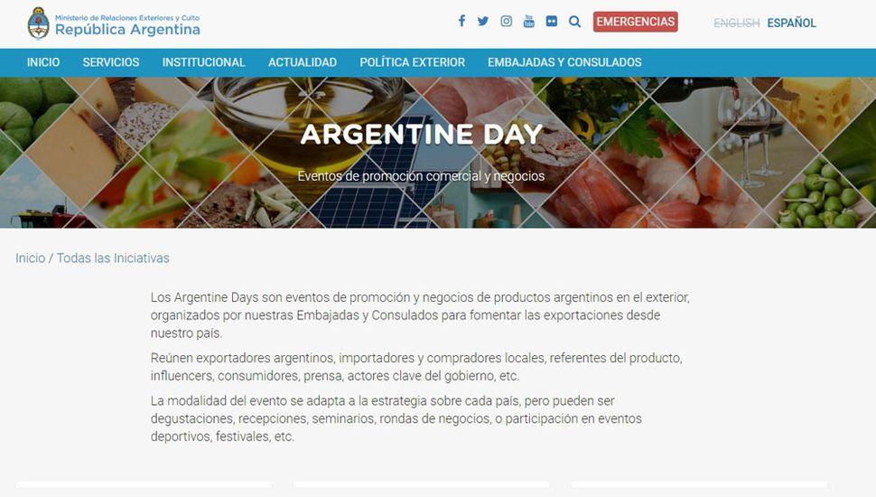 Lanzan una web para promocionar exportaciones y empresas nacionales