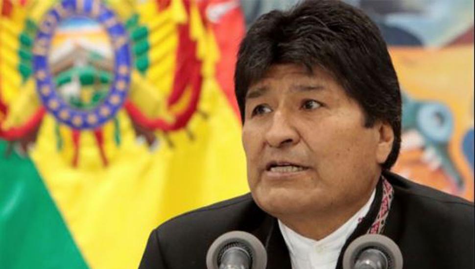 """Reforzaron el palacio presidencial y Evo  Morales pidió """"paz"""""""