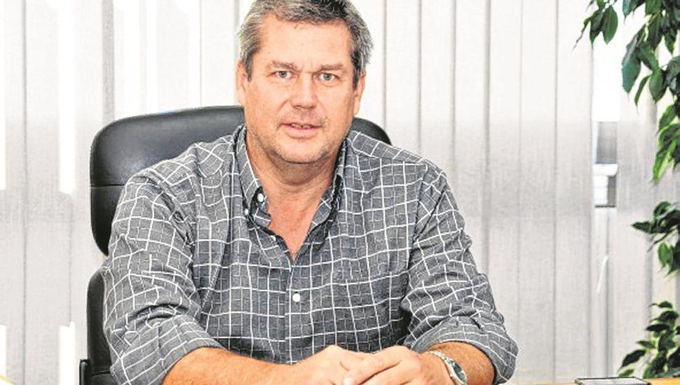 Marcelo Balestrasse, secretario de Obras Públicas.