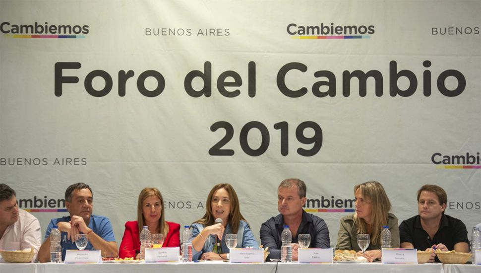 María Eugenia Vidal reunió a su tropa y ratificó –pese a los rumores- su intención de ir por la reelección en territorio bonaerense.