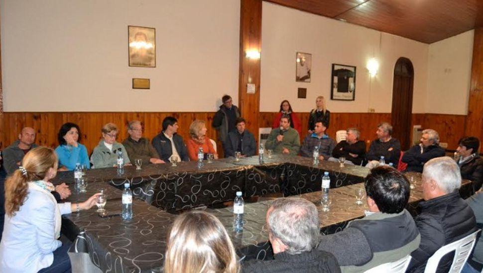 El subsecretario de Trabajo Horacio Barreiro visitó Vedia