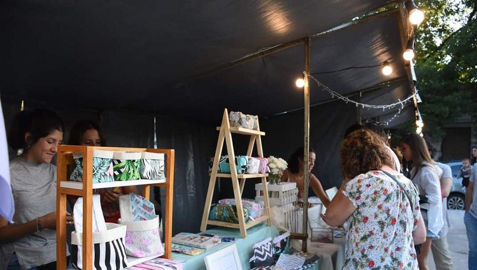 Los vecinos de Chacabuco disfrutaron de la feria de emprendedores Impulsar