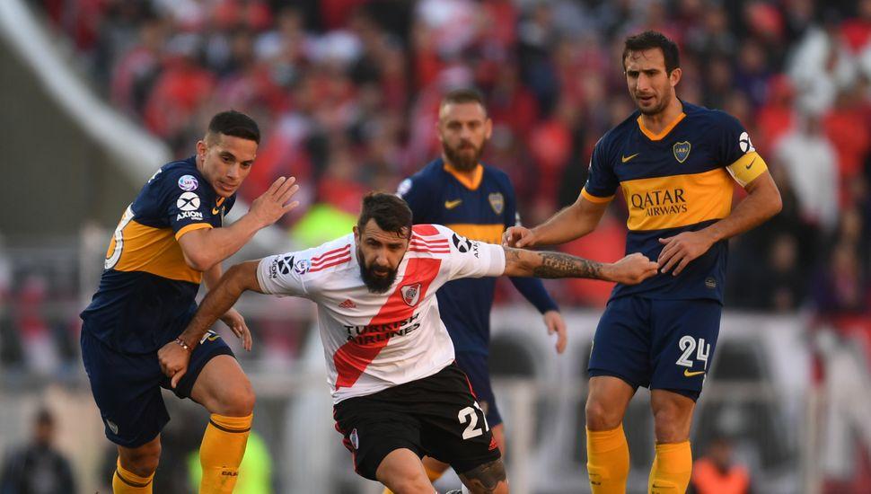 River y Boca igualaron 0 a 0 en Núñez