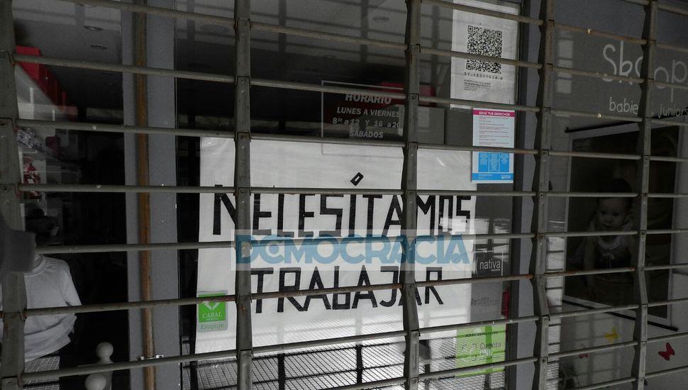 Comerciantes de Junín piden volver al trabajo presencial