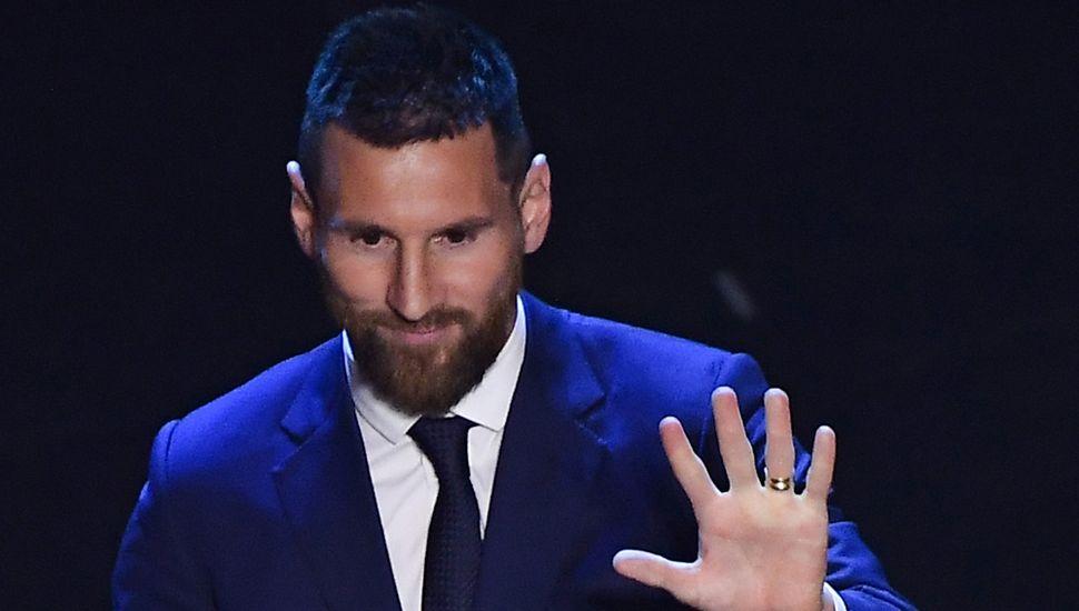 Lionel Messi logró el premio The Best y recuperó el trono de mejor jugador del mundo.