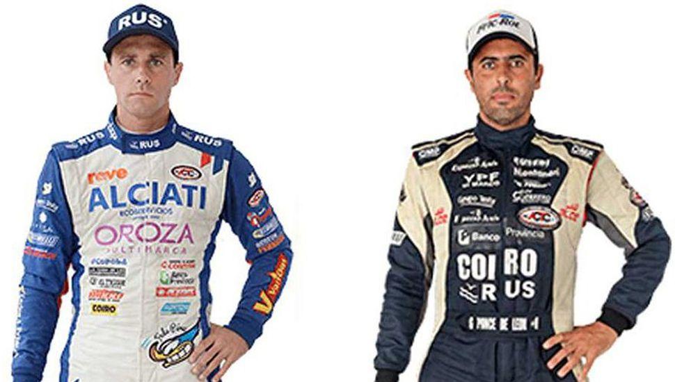 Federico Pérez y Gabriel Ponce de León correrán este fin de semana en Concordia, en la novena del año del Turismo Carretera.