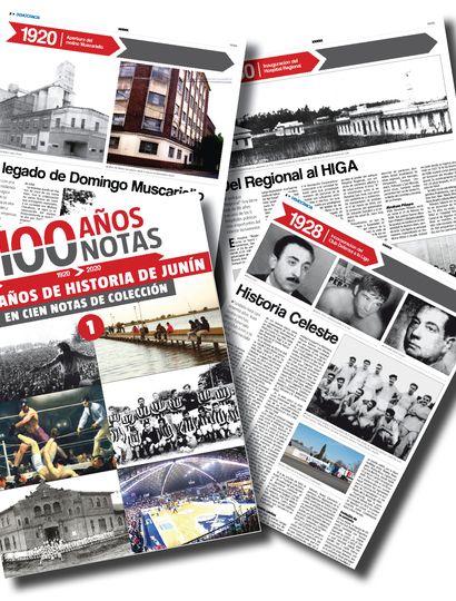"""Democracia presenta """"100 años / 100 notas"""""""