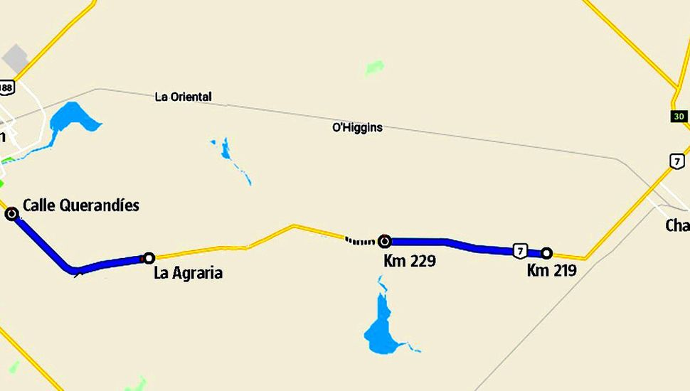 Entre Junín y Chacabuco se habilitarán dos tramos.