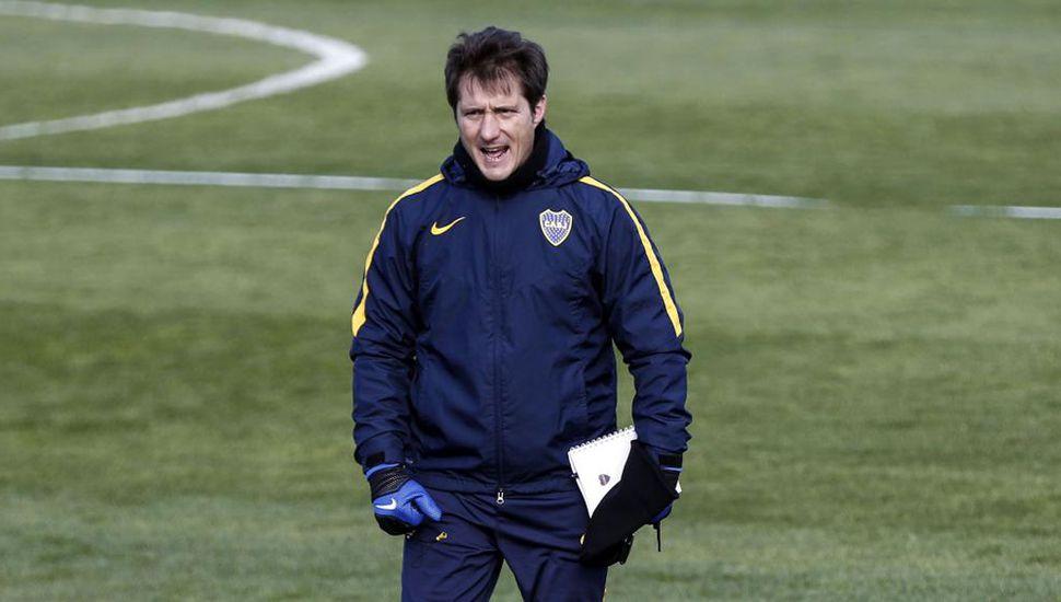 Tras el incidente, Boca regresó de Mar del Plata y se entrenó en Casa Amarilla