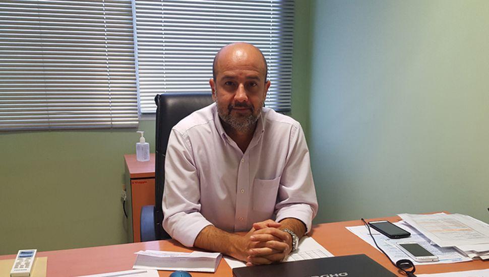 Pablo Torres, director de Grupo Servicios Junín.