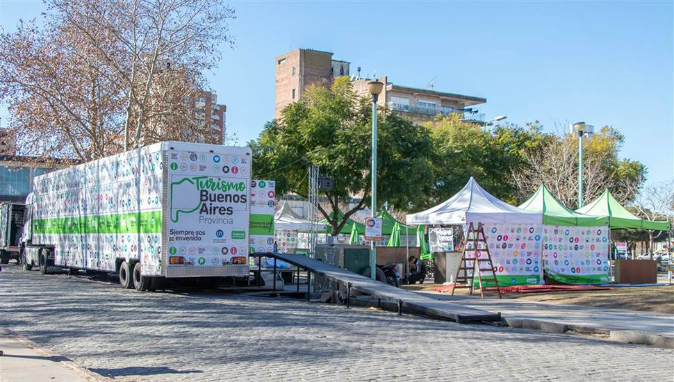 El tráiler estará ubicado en Liliedal, entre Belgrano y Rivadavia.
