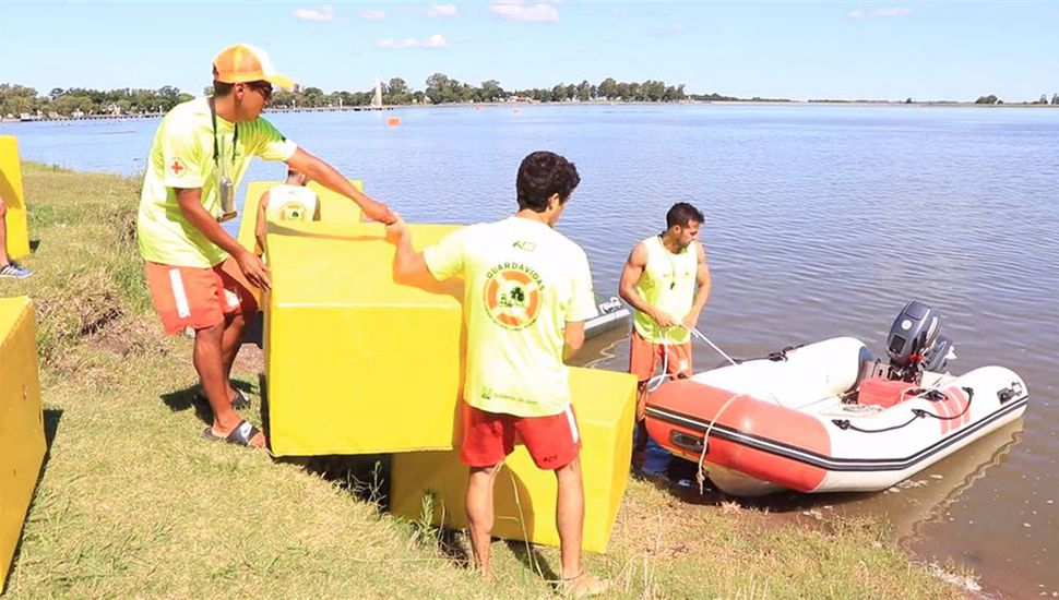 Los nadadores podrán disfrutar de La Laguna con mayor seguridad.