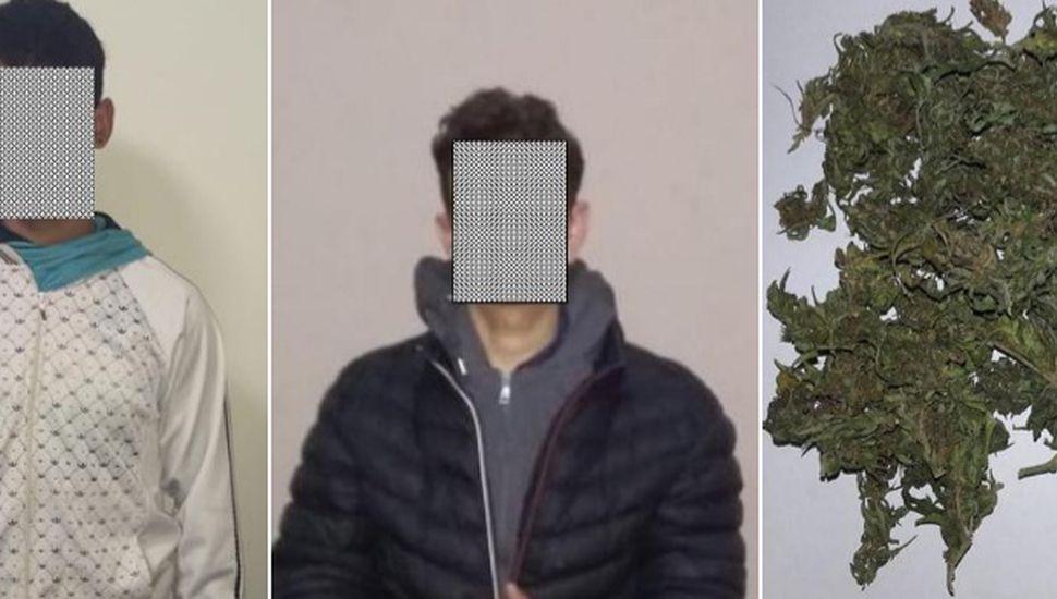 Demoran a dos jóvenes con marihuana en Rojas