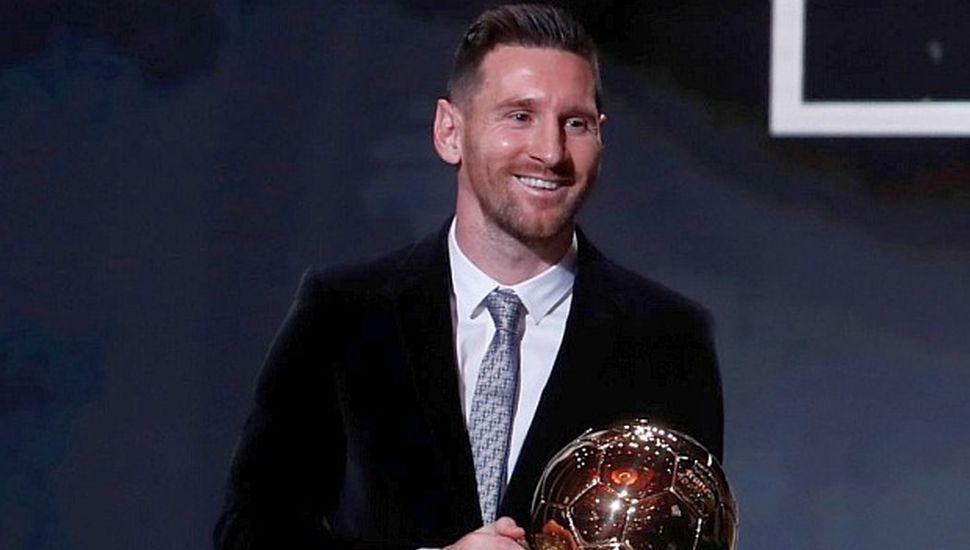 Messi disfruta de otro Balón de Oro