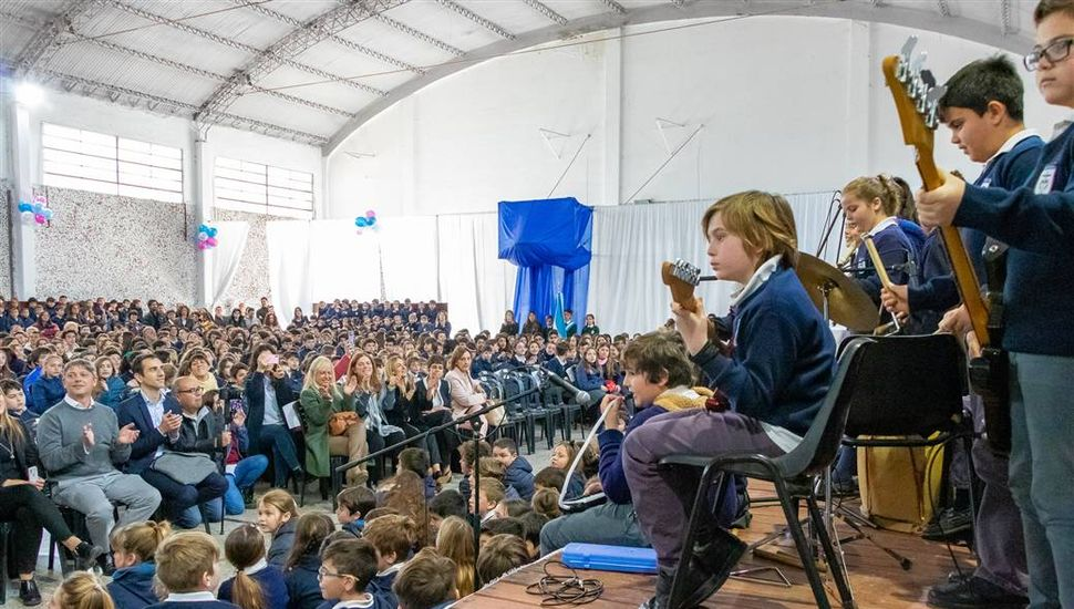 Celebración por los 50 años del Colegio Marianista