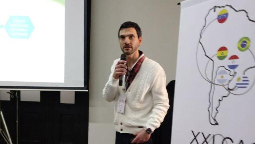 Juan José Musci obtuvo el Premio al Investigador Joven en Catálisis 2019.