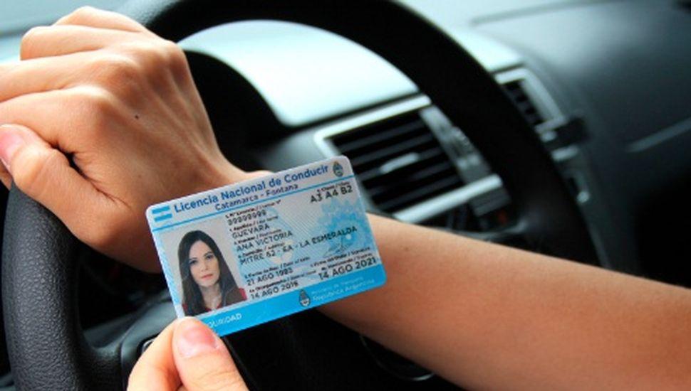Viamonte: se entregará la licencia de conducir en 24 horas