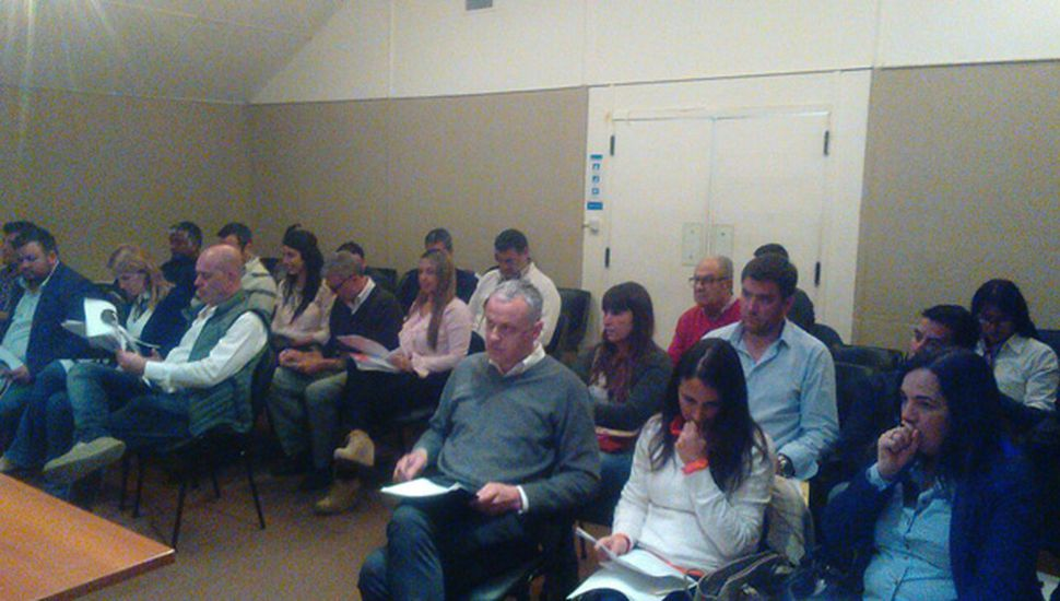Sesión de ayer realizada en el Microcine del MUMA.