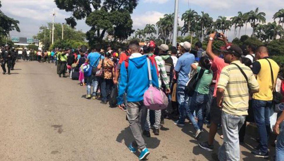 La cifra de venezolanos que salieron de su país por la crisis se eleva a 3,4 millones
