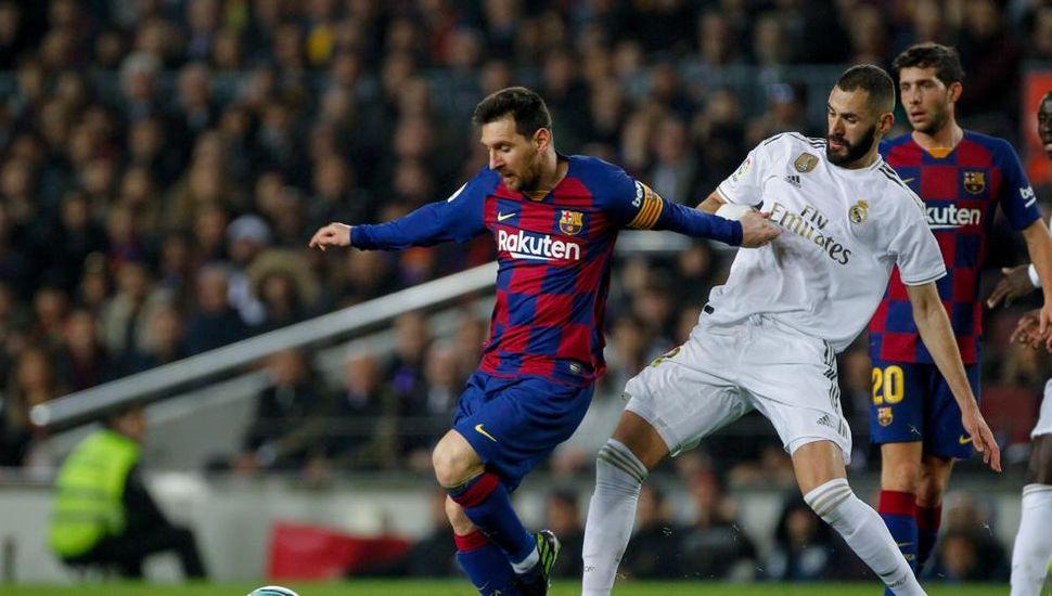 Empataron Barcelona  y Real Madrid, sin goles