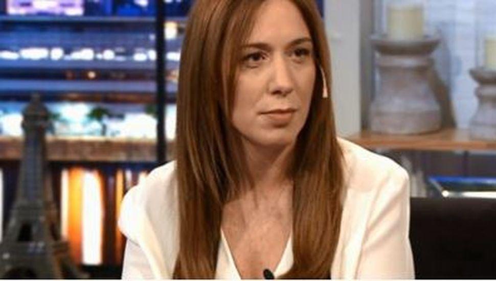 María Eugenia Vidal confesó de qué trabajaría en caso de perder las elecciones