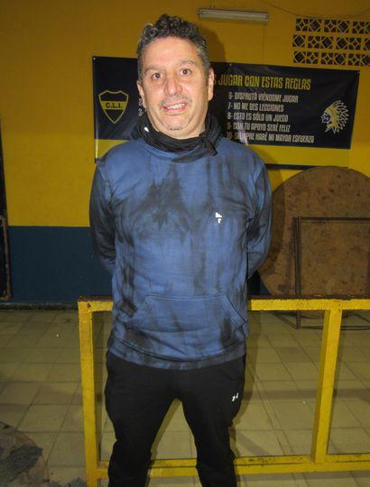 Mario Andrade, coach de Los Indios.