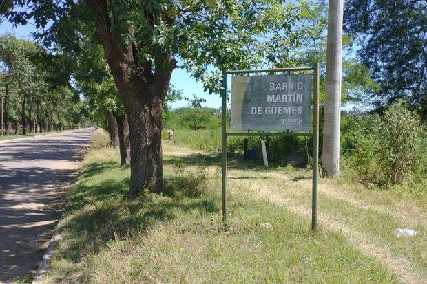 En el último tiempo el barrio Martín Miguel de Güemes tuvo un crecimiento considerable en el número de residentes.