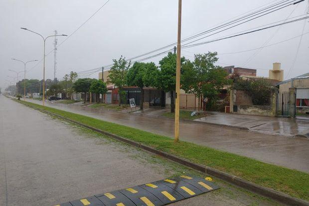 Los vecinos del barrio Municipal 144 Viviendas solicitan que se circule más despacio en la avenida Pastor Bauman.