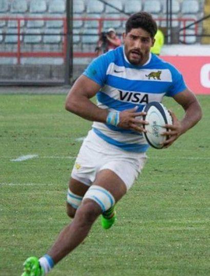 Rodrigo Bruni, forward del seleccionado de rugby