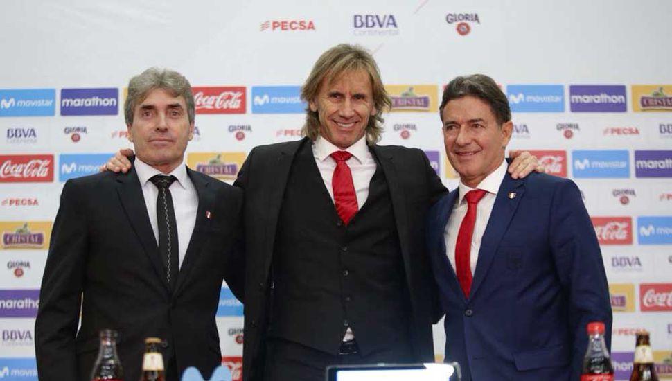 Ricardo Gareca arregló su continuidad en la selección de Perú