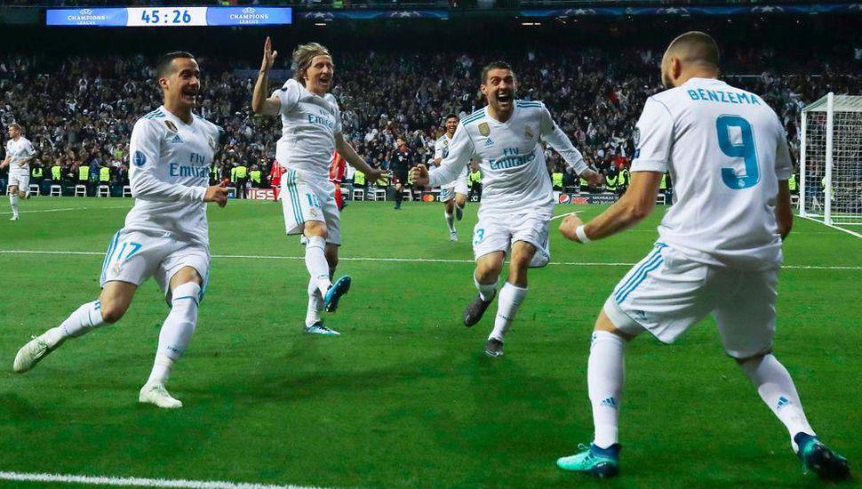 Real Madrid sufrió,  empató y clasificó a la final