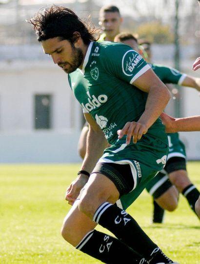 Pablo Magnín, delantero de Sarmiento de Junín.