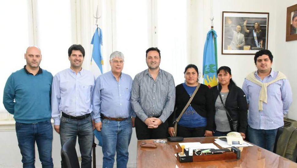 El viceconsul de Bolivia estuvo en Chacabuco