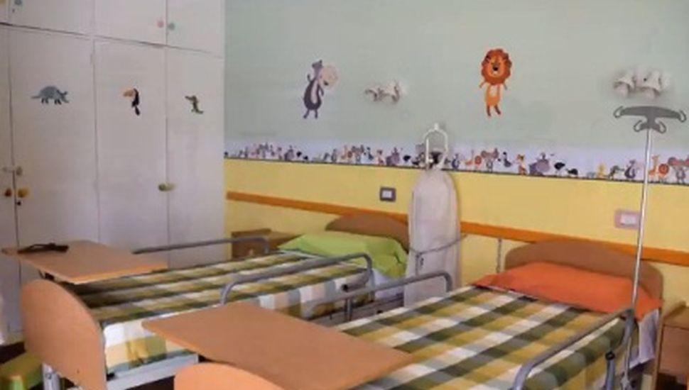 Presentaron las nuevas salas de internación pediátrica en Ameghino
