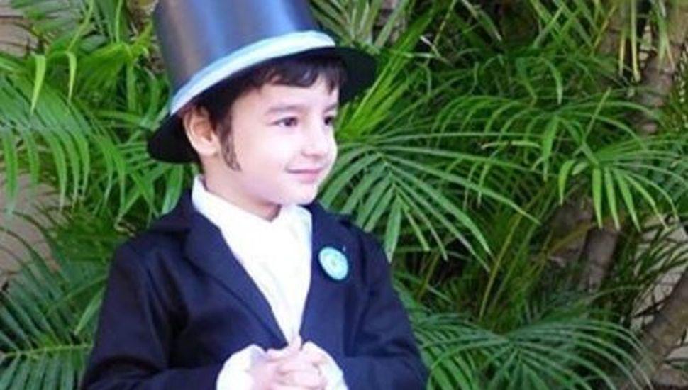 """""""San Martín es mi amor"""": el video viral del nene de cuatro años fanático del prócer argentino"""