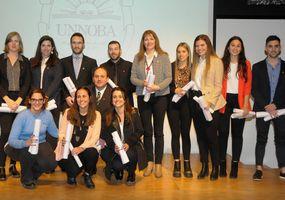 Reciben sus diplomas graduados de la  Unnoba de distintos puntos de la Región
