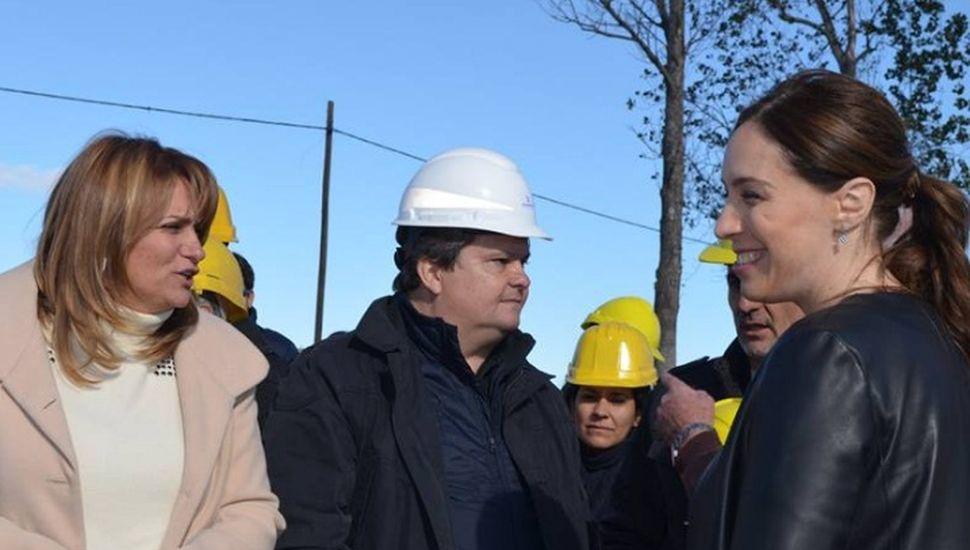 Vidal inaugura Obras del Plan de Emergencia Hídrica en Arenales