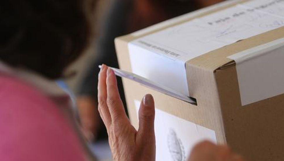 Se trata de la mecánica establecida por la Dirección Nacional Electoral.
