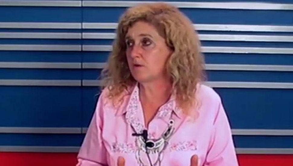 Rosana Franco, presidenta de la FAA filial Junín.