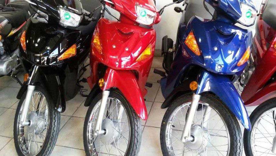 El mes pasado cayó un 40% la venta de motos