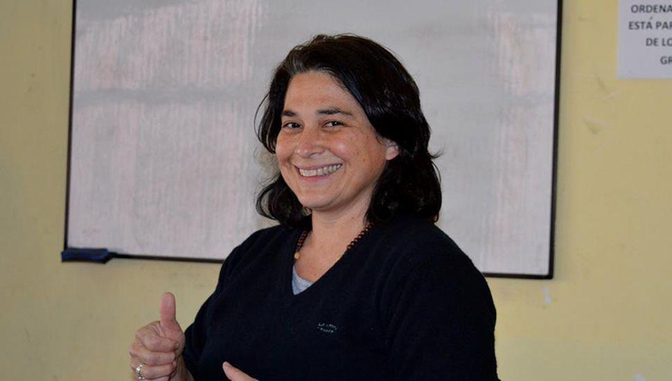 Miryan Sánchez, profesora de Administración de Empresas.