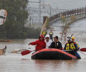 Ascienden a 70 los muertos  por el tifón Hagibis en Japón