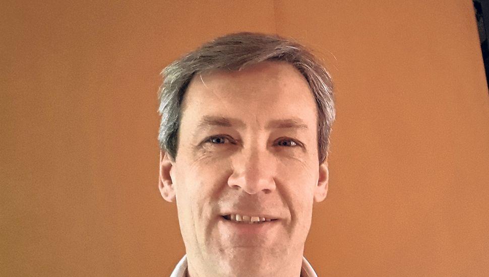 Doctor Andrés Pirotti, presidente del Círculo Odontológico de Junín.