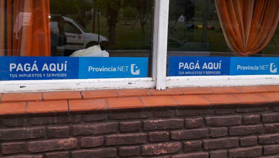 Bayauca: habilitaron una ventanilla de cobro de Provincia Net