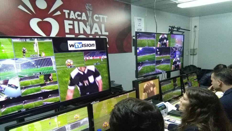 Llega el VAR al fútbol argentino.